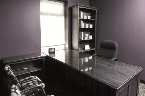 Private office rental, Uptown Business Club, Hamilton, Ontario